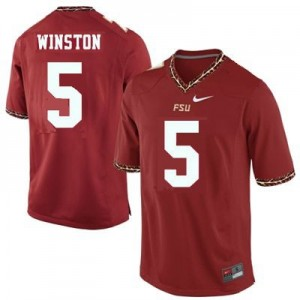 Nike Jameis Winston FSU No.5 - Garnet Red Football Jersey