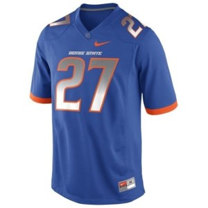 Nike Jay Ajayi Boise State Broncos No.27 - Blue Football Jersey