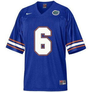 Nike Jeff Driskel Florida Gators No.6 - Blue Football Jersey