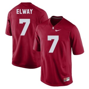 Nike John Elway Stanford Cardinal No.7 - Red Football Jersey