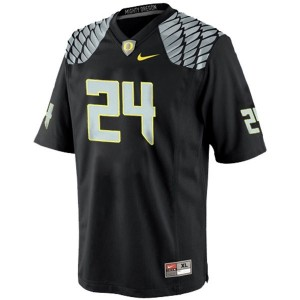 Nike Kenjon Barner Oregon Ducks No.24 - Black Football Jersey