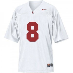 Nike Kevin Hogan Stanford Cardinal No.8 Youth - White Football Jersey