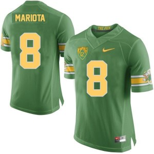 Nike Marcus Mariota Oregon Ducks 20th Anniversary The Pick - Green Football Jersey