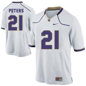 Nike Marcus Peters Washington Huskies No.21 Youth - White Football Jersey