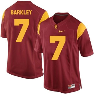 Nike Matt Barkley USC Trojans No.7 Youth - Red Football Jersey