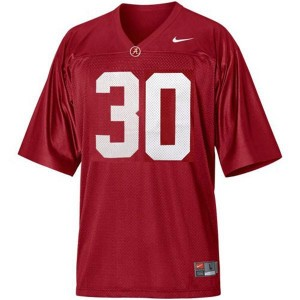 Nike Alabama Crimson Tide Dont'a Hightower No.30 Red Youth Football Jersey