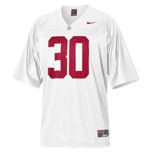 Nike Alabama Crimson Tide Dont'a Hightower No.30 White Football Jersey