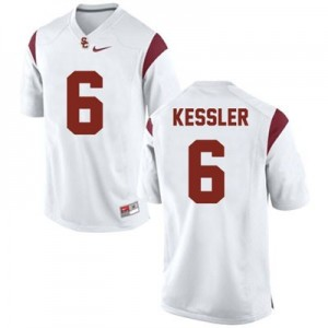 Nike Cody Kessler USC Trojans No.6 College - White Football Jersey