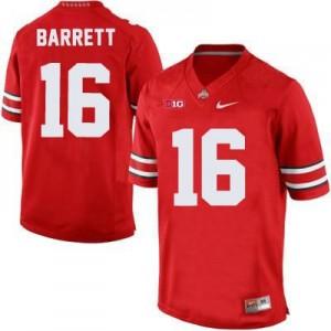 Nike J.T. Barrett Ohio State Buckeyes No.16 - Scarlet Football Jersey