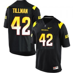 Nike Pat Tillman Arizona State Sun Devils No.42 Youth - Black Football Jersey