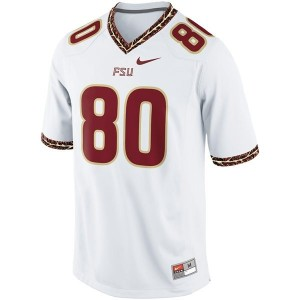 Nike Rashad Greene FSU No.80 - White Football Jersey
