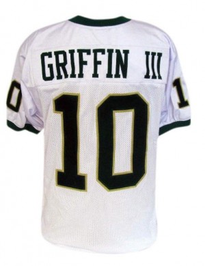 Nike Robert Griffin III Baylor Bears No.10 Youth - White Football Jersey
