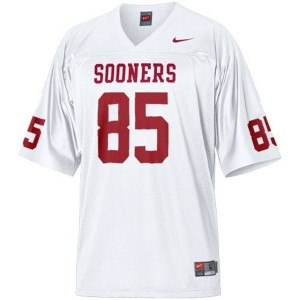 Nike Ryan Broyles Oklahoma Sooners No.85 Youth - White Football Jersey