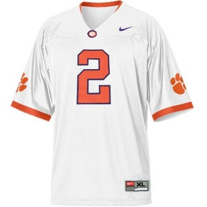 Nike Sammy Watkins Clemson No.2 - White Football Jersey