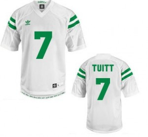 Adida Stephon Tuitt Notre Dame Fighting Irish No.7 Youth - White Football Jersey