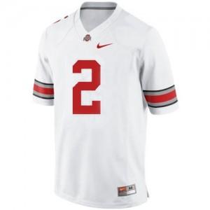 Nike Terrelle Pryor Ohio State Buckeyes No.2 - White Football Jersey