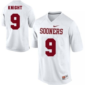 Nike Trevor Knight Oklahoma Sooners No.9 - White Football Jersey