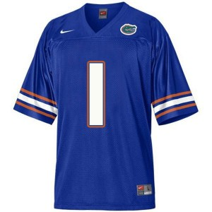 Nike Vernon Hargreaves III Florida Gators No.1 - Blue Football Jersey