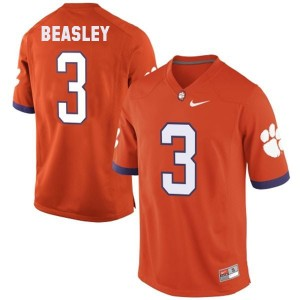 Nike Vic Beasley Clemson No.3 - Orange Football Jersey